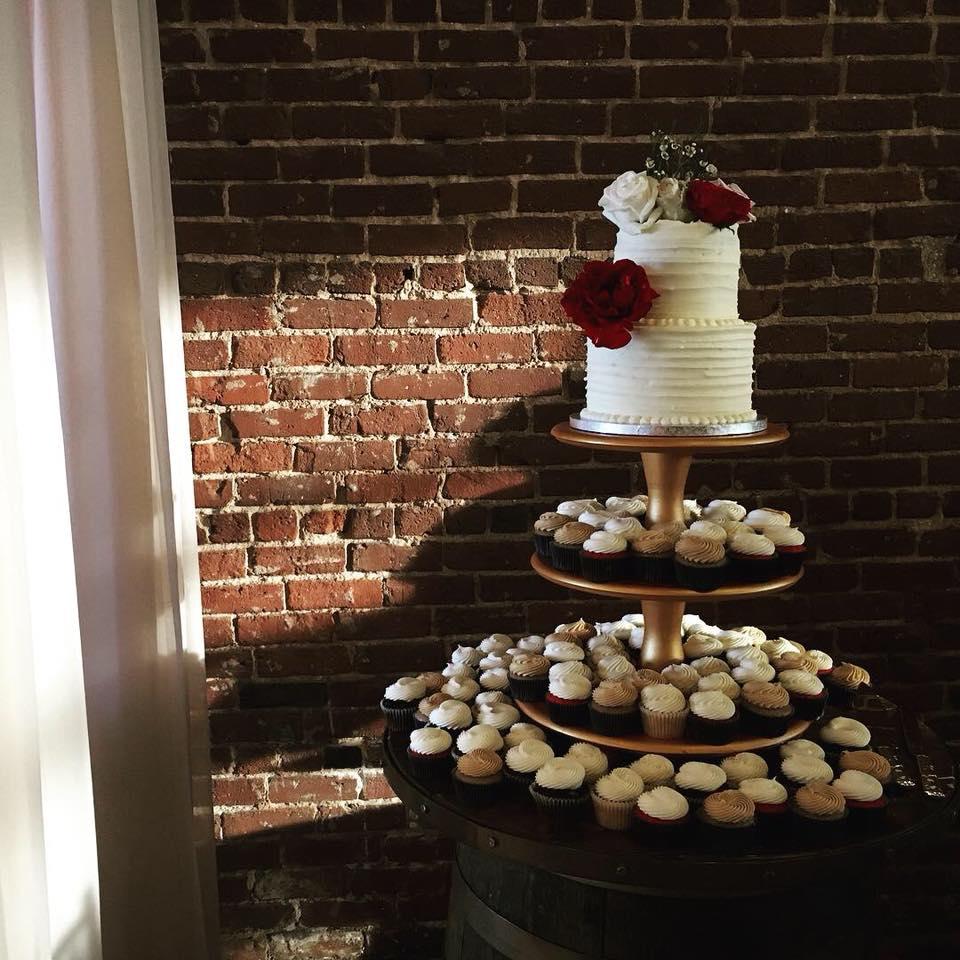 Atlanta Cupcake Wedding Tower