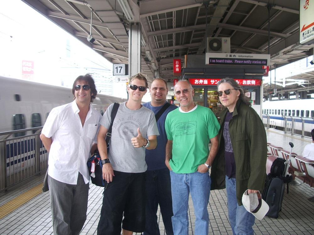 Toss Panos, jb, Travis Carlton, Larry Carlton, Robben Ford Tokyo 2006