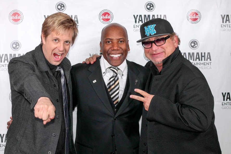 w/ Nathan East & David Paich, Ocean Way Recording Studio, Hollywood CA 2014
