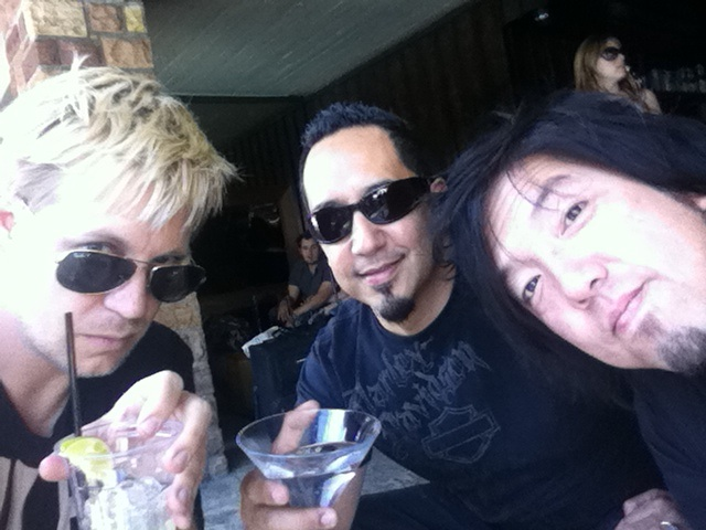 Jeff, Cleto & Toshi of the Cletones now... (2013)