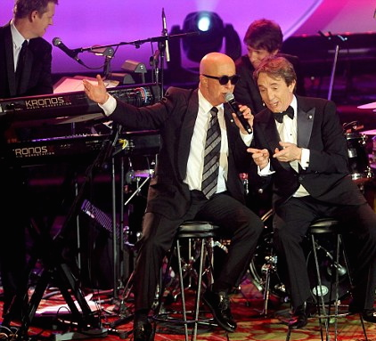 accompanying Paul Shaffer & Martin Short, Toys R Us Gala 2014
