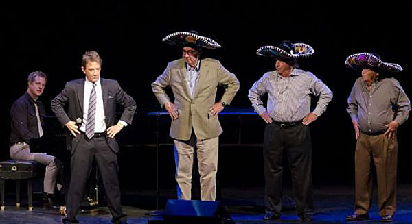 """The Three Amigos bit"" w/ Martin Short and ""3 random guys"""