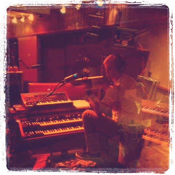 melodica @ Sunset Sound, Hollywood CA 2011