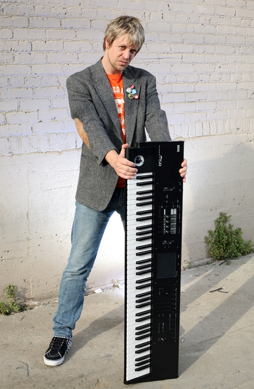 promo shoot for Korg M50, Hollywood, CA
