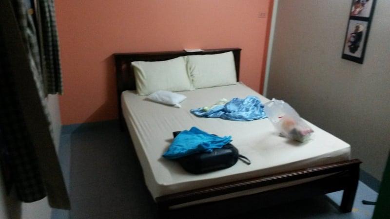Mein Zimmer im Smile Guesthouse für 250 Baht =~7€/Nacht