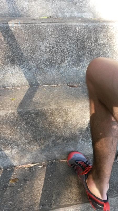 Fast Lino-Beinlange Stufen