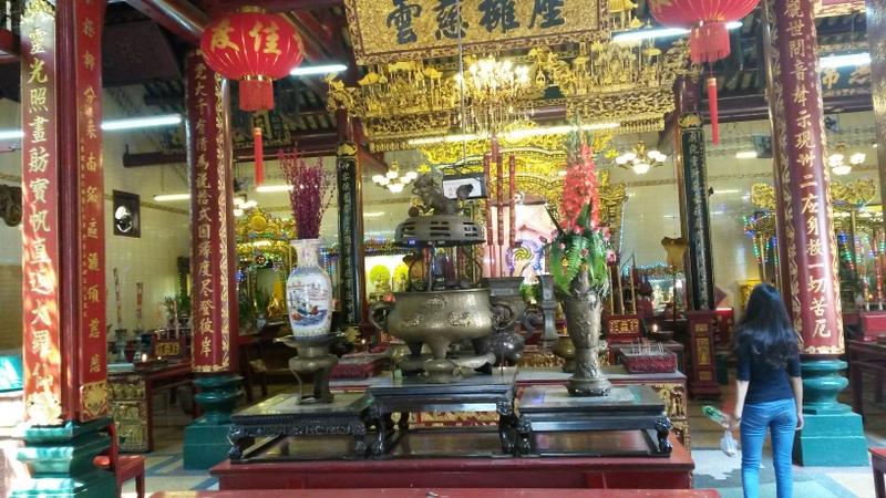 Ein Tempel von innen
