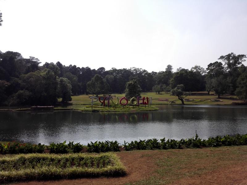 im botanischen Garten von Pyin Oo Lwin