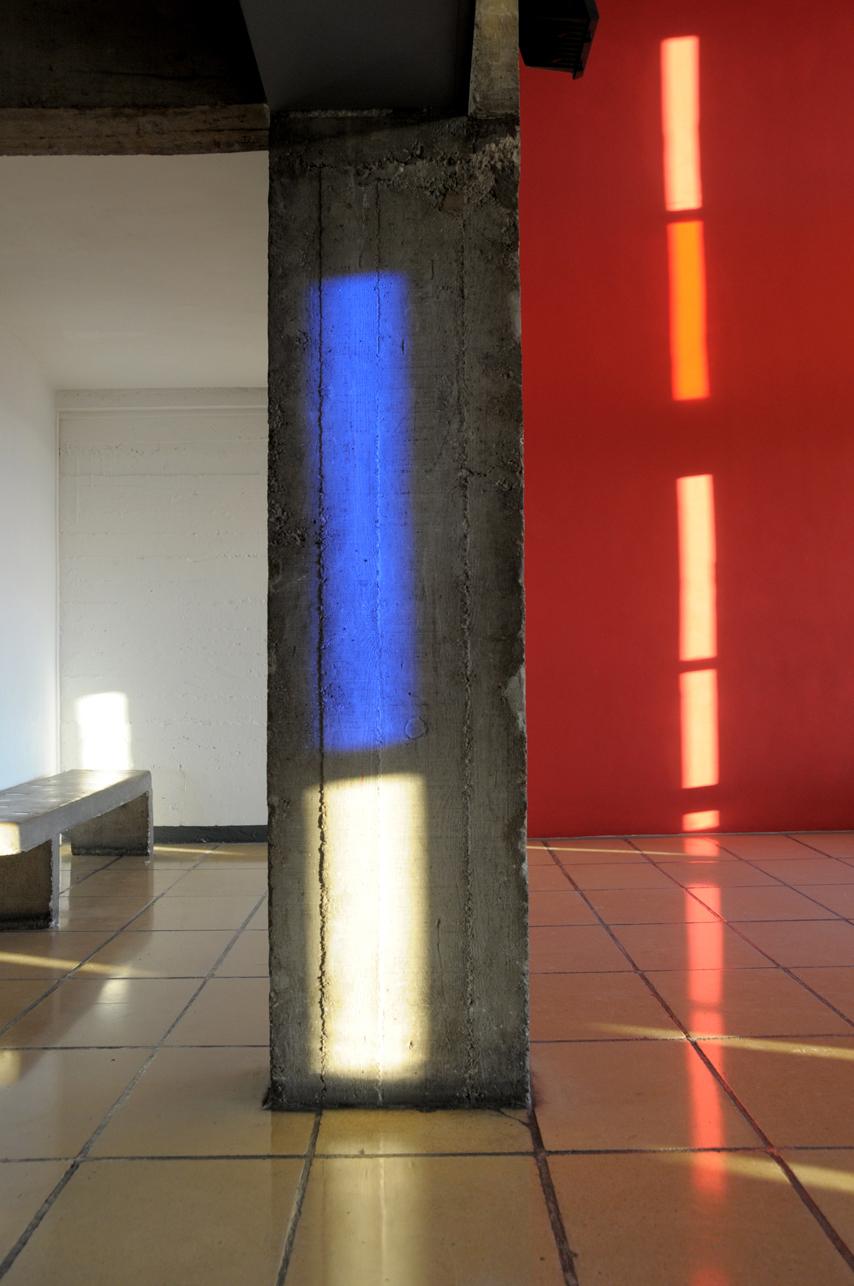 "2011 - ""La Cité Radieuse"", Marseille. On-Site Glass Installation"