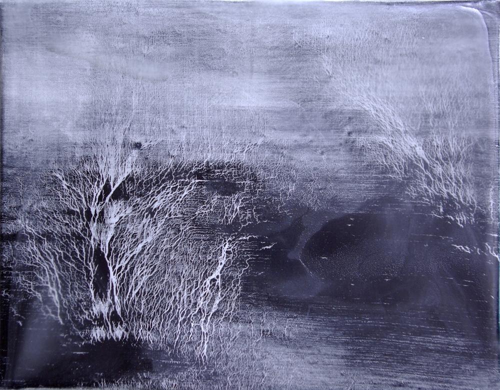 RH12 Oil on canvas. Dimension: 14 x 18 cm