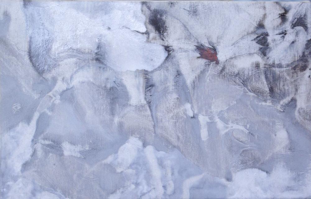 RH15 Oil on canvas. Dimension: 14 x 22 cm