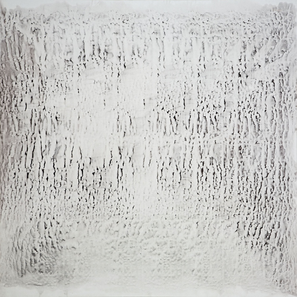 #1179-2005  Oil, alkyd, wax on canvas Dimension: 78 x 78 inches