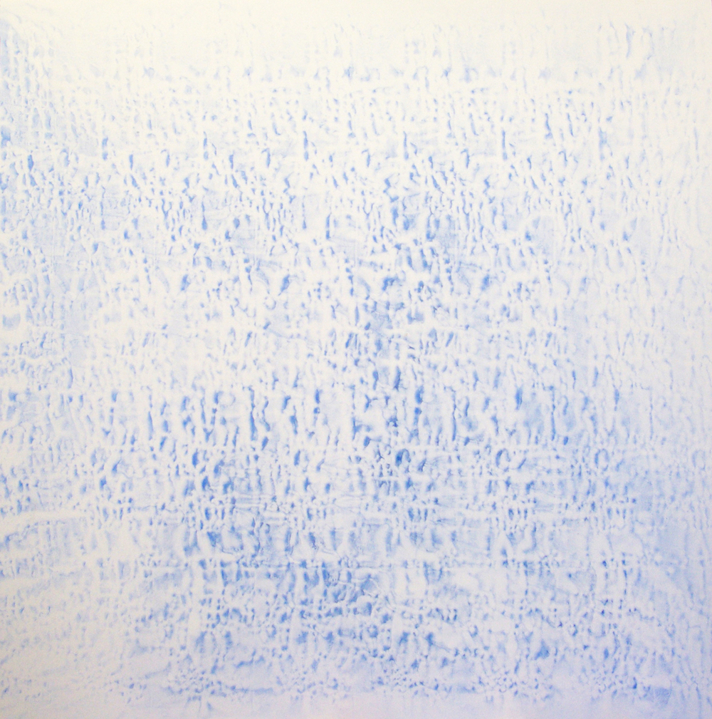 #1246-2007/2011  Oil, alkyd, wax on canvas Dimension: 78x 78 inches