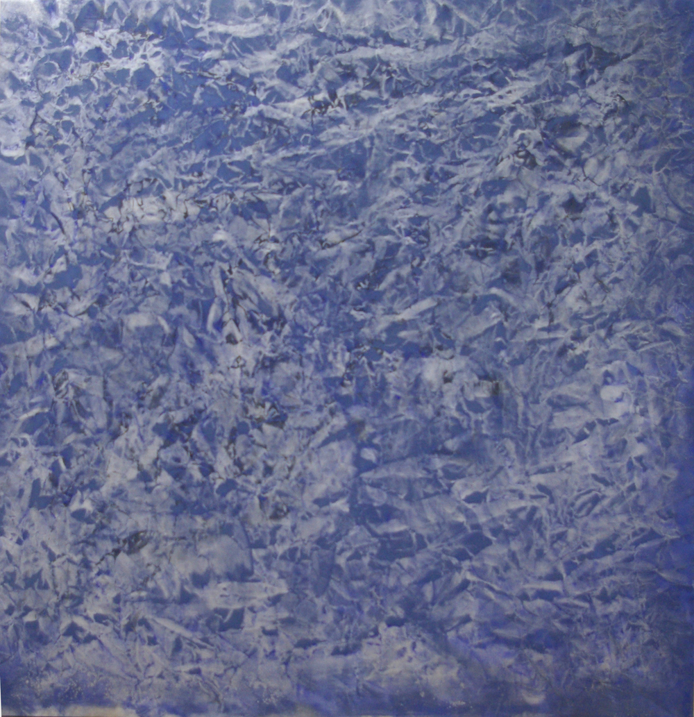#1311-2014  Oil, alkyd, wax on canvas Dimension: 62 x 64 inches
