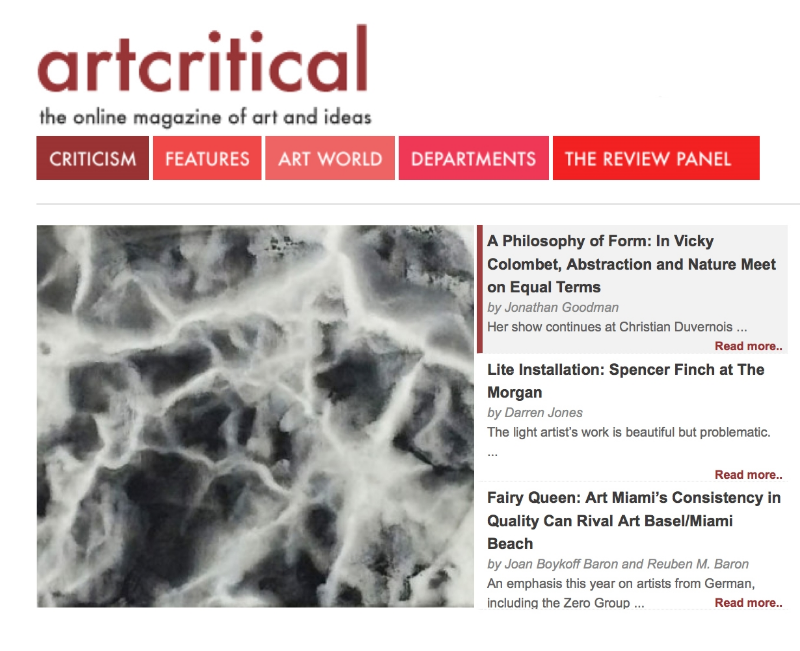 artcritical review