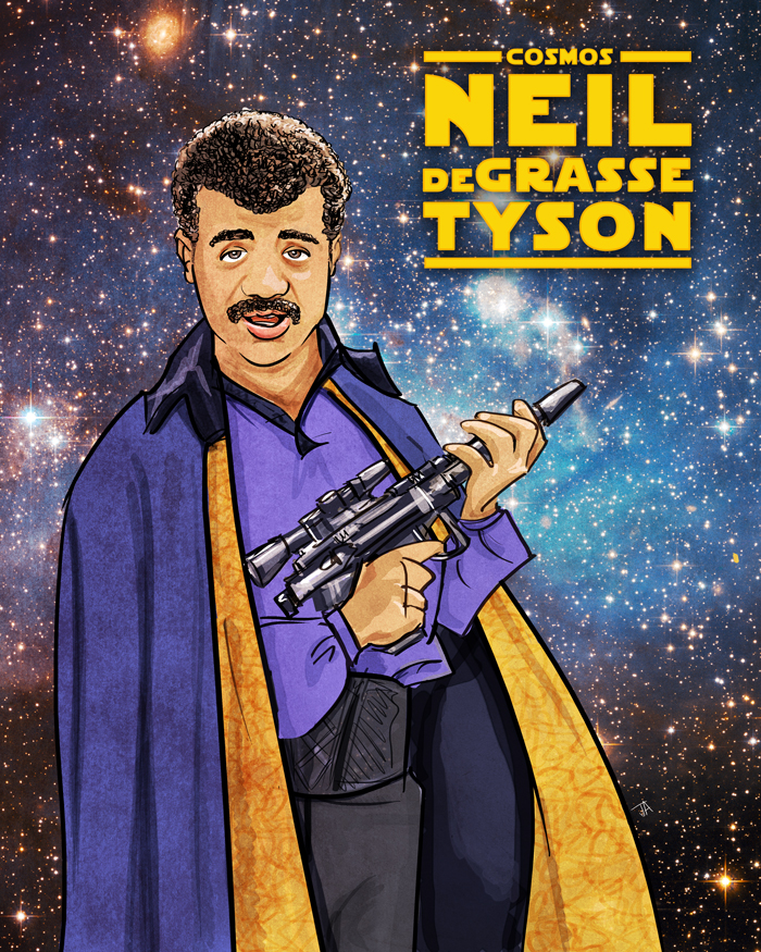 Neil deGrasse Tyson likes cosplay.