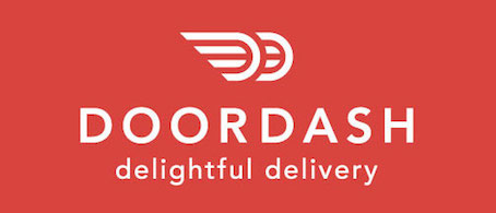 Door Dash - available for lunch and dinner