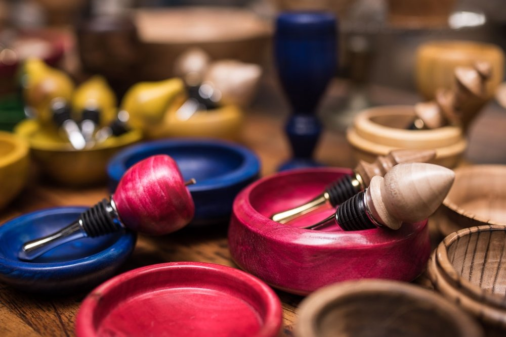- WOOD TURNINGS BY WOODY