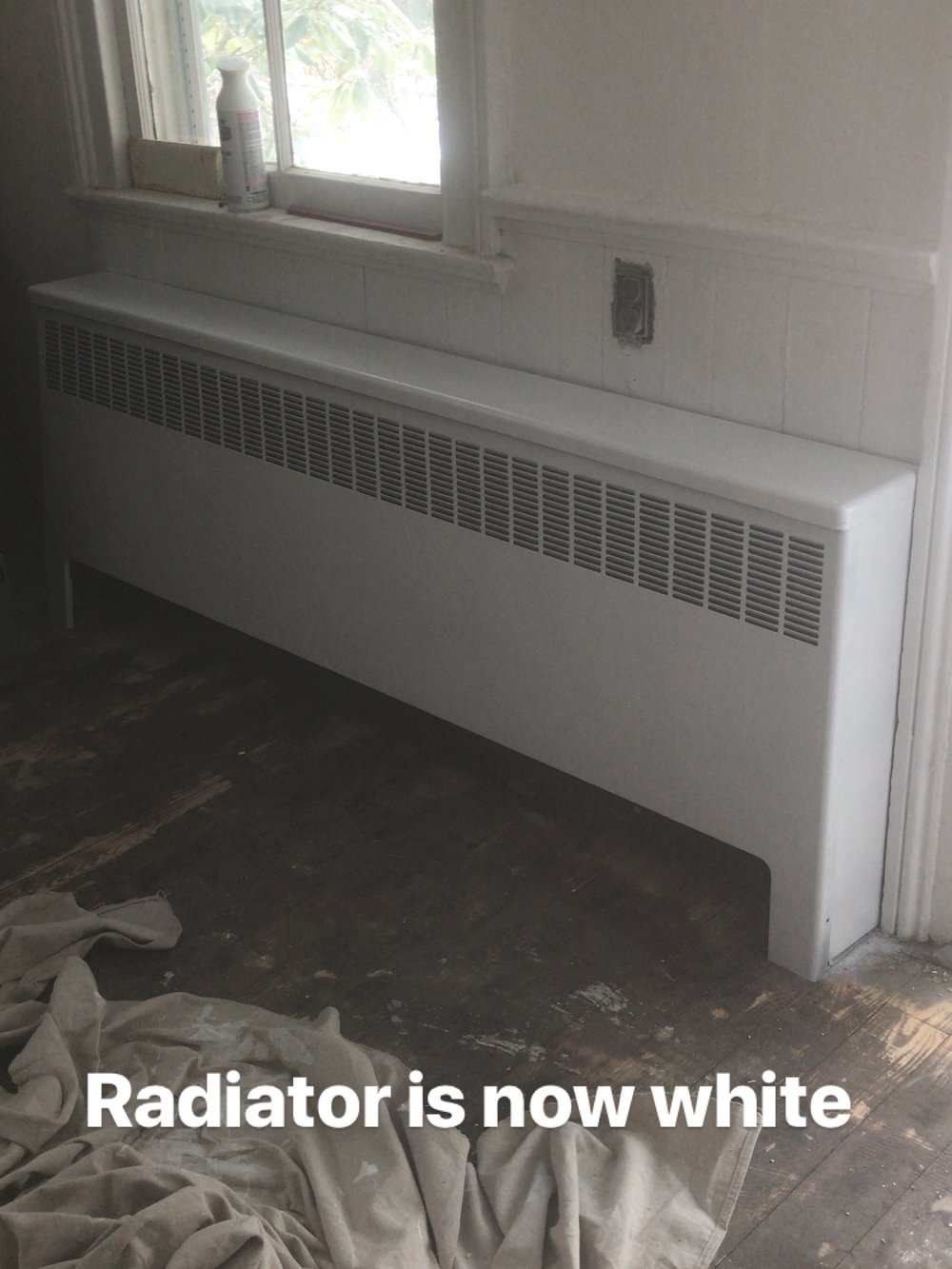 radiator white kitchen.JPG