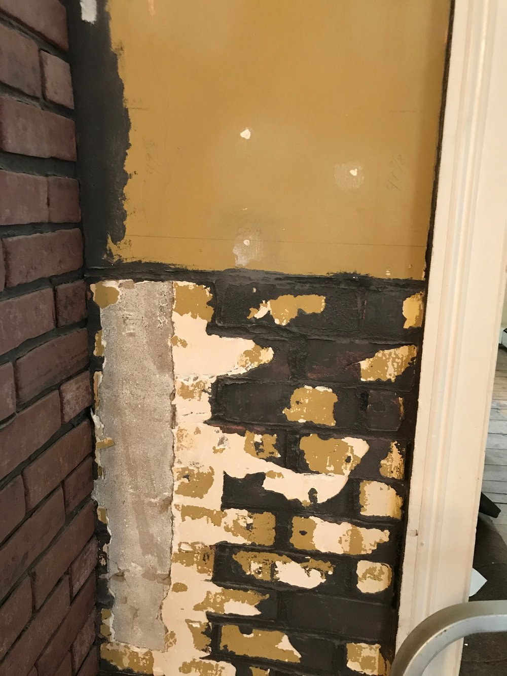 dining brick side plaster.jpg