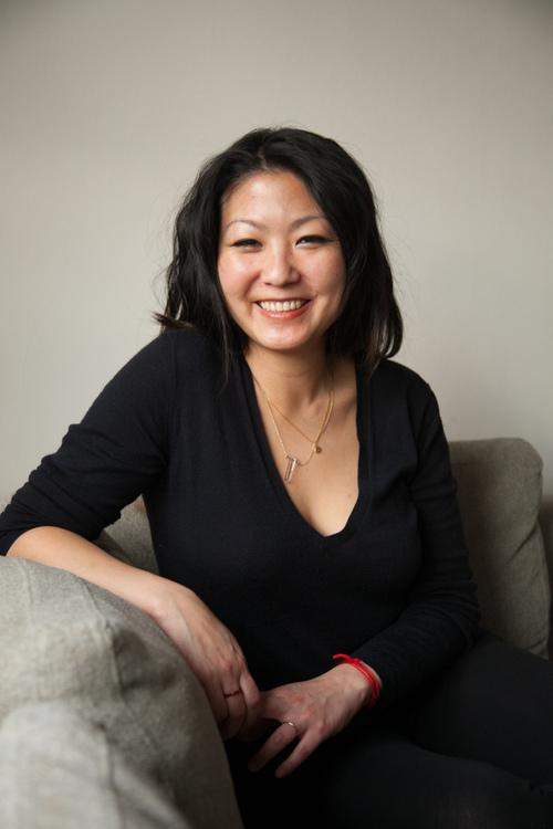 Anjie Cho. Photo by Andrew Einhorn