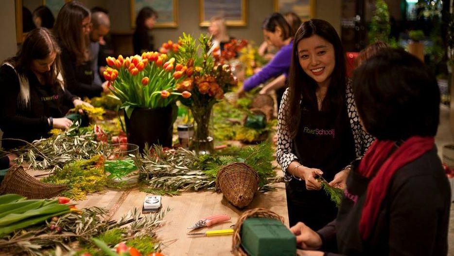 Flowerschool New York Beginners Open Studio Alix Is An
