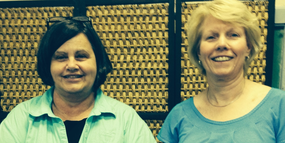 Patty Bradshaw and Cathy Sligh, Literacy Consultants, CSRA RESA