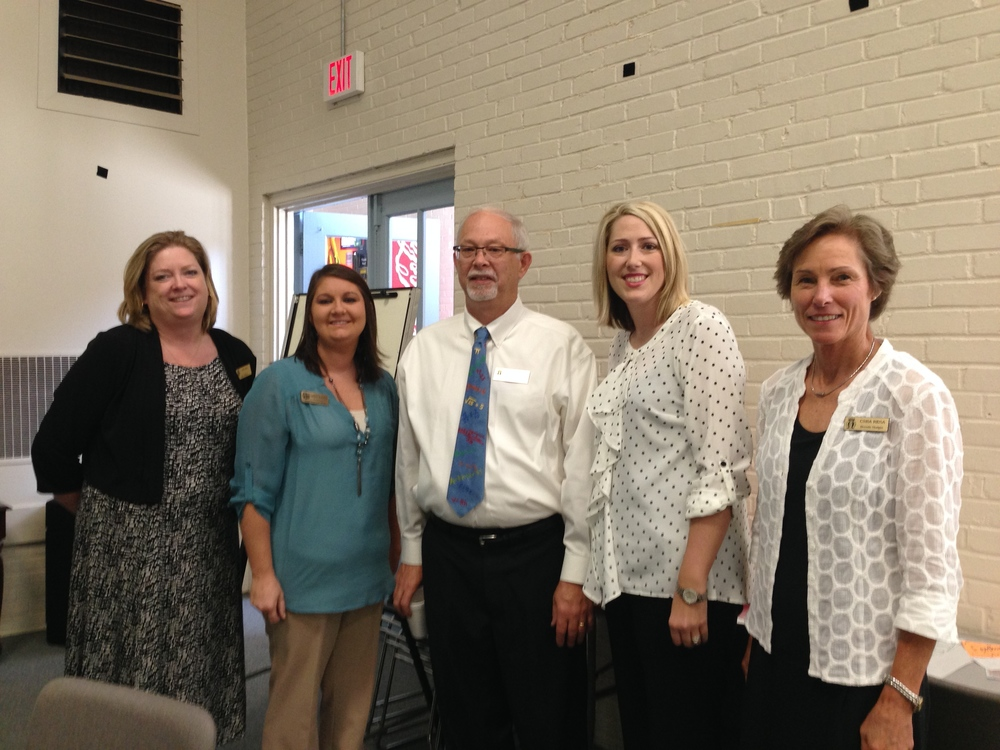 MDC Trainers,  with Presenters,  Anna Leigh  and  Lindsey  Sconyers,  entertain  teachers  at  the  CSRA  RESA Middle/High  Training.  View  their  video  excerpts  at  right.