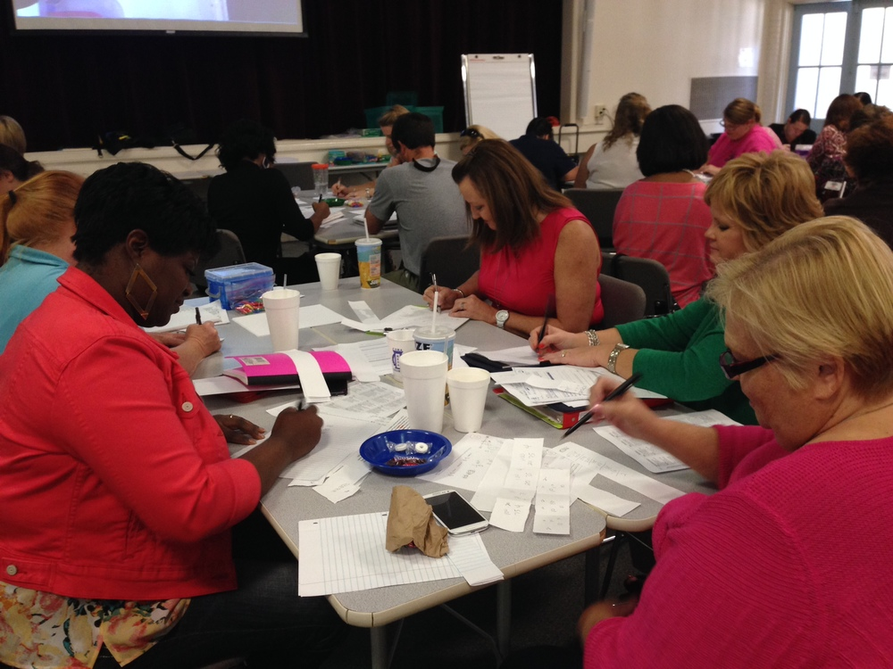 Elementary  teachers  enjoy  MDC  workshops!