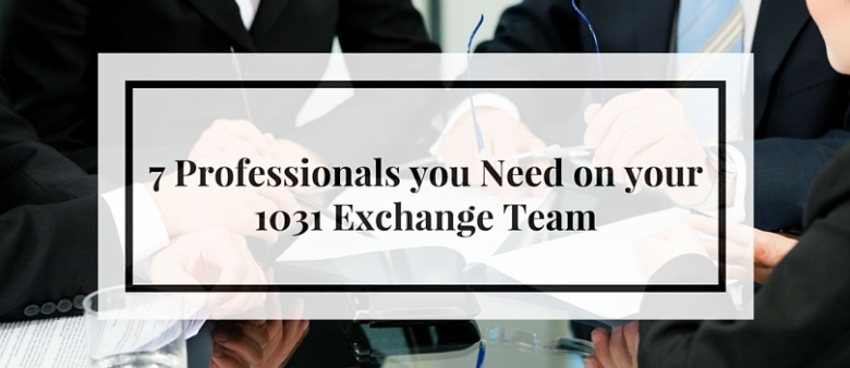 1031 exchange professionals