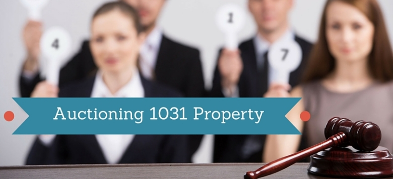 1031 exchange property at auction
