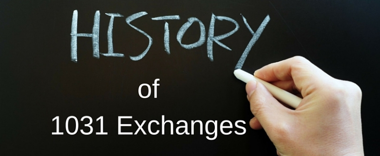 history of 1031 exchanges