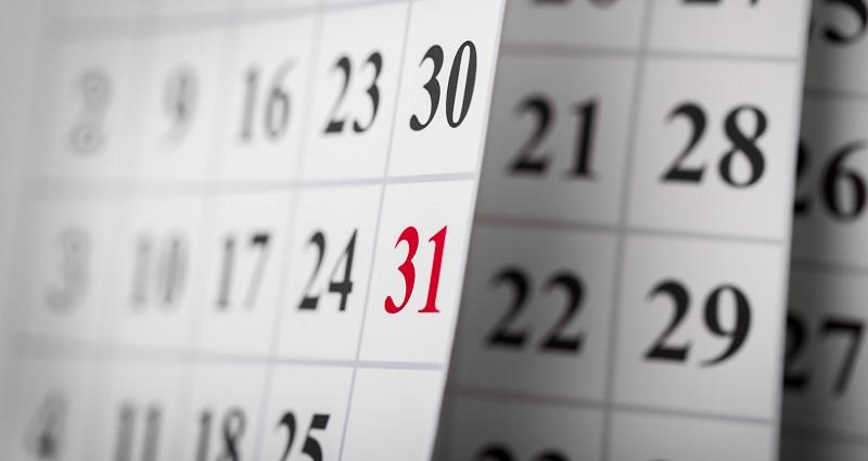 1031 Exchange Calendar