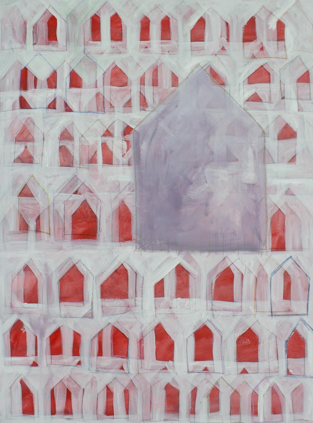 """ANCESTRAL 36 x 48"""" acrylic on canvas"""