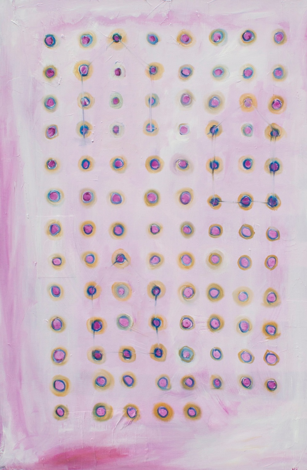 "KNICKERS IN A TWIST 30 x 48"" oil on canvas"