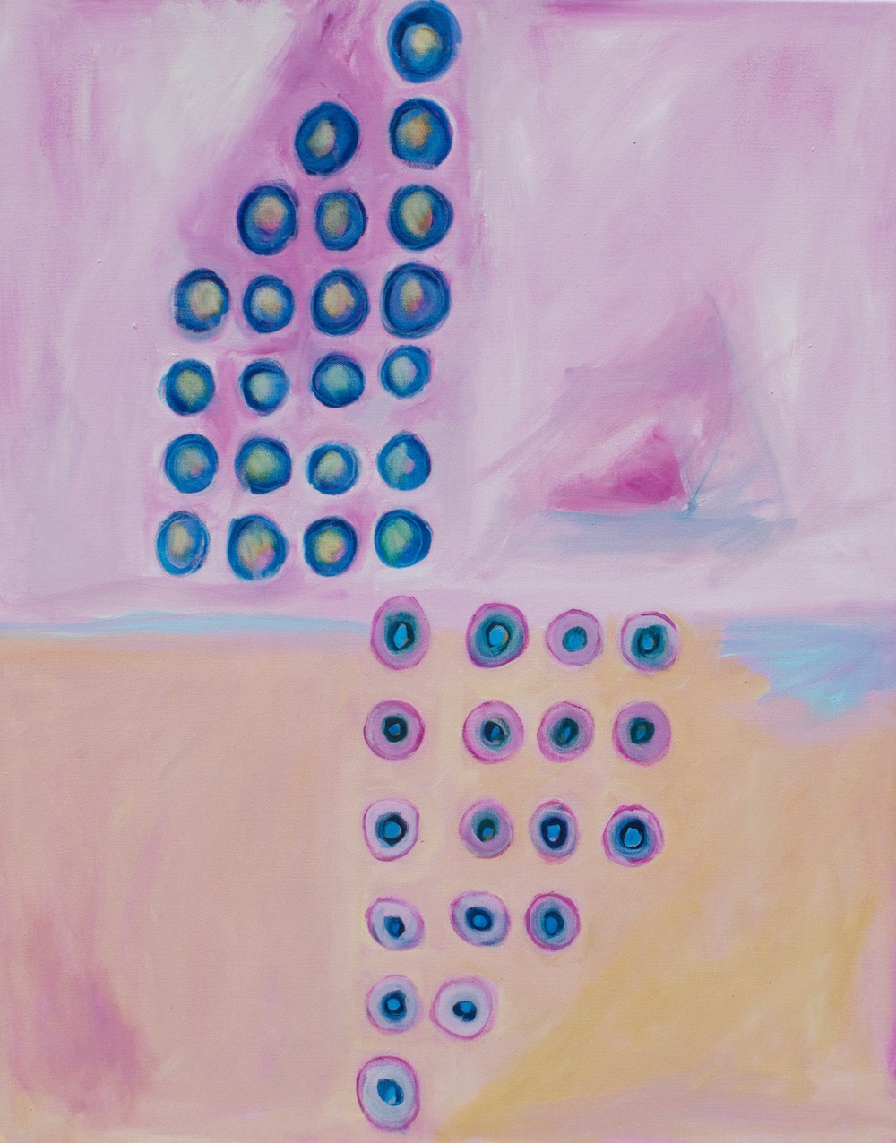 "GEMINI 18 x 24"" oil on canvas"