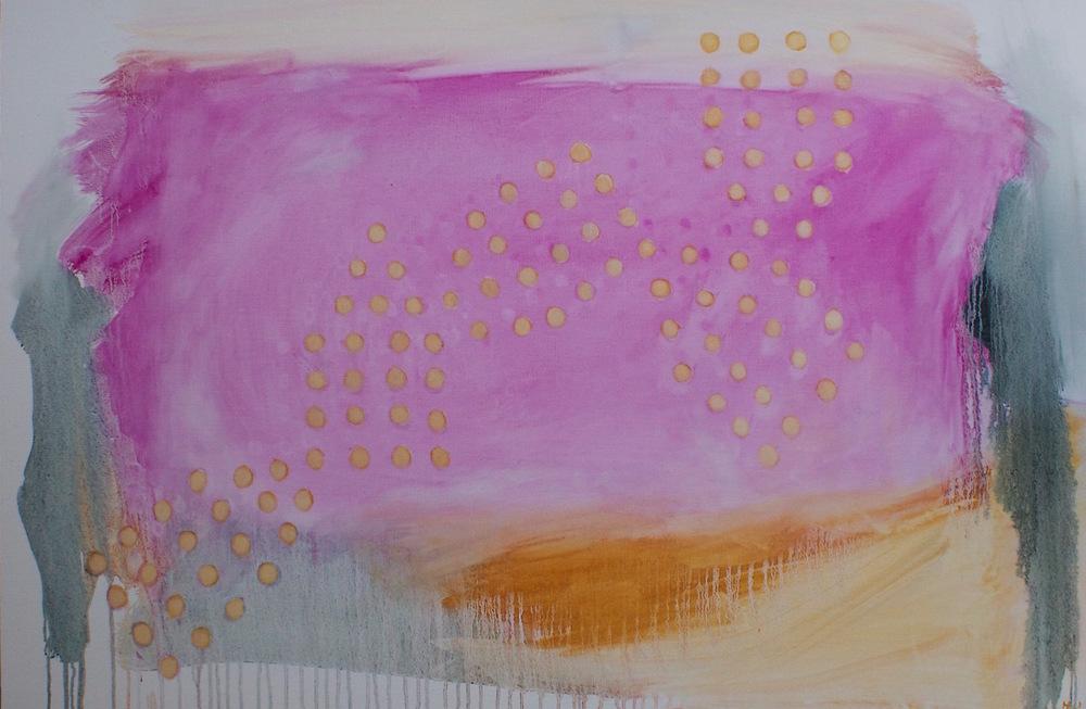 "SKEDADDLE 30 x 40"" oil on canvas"