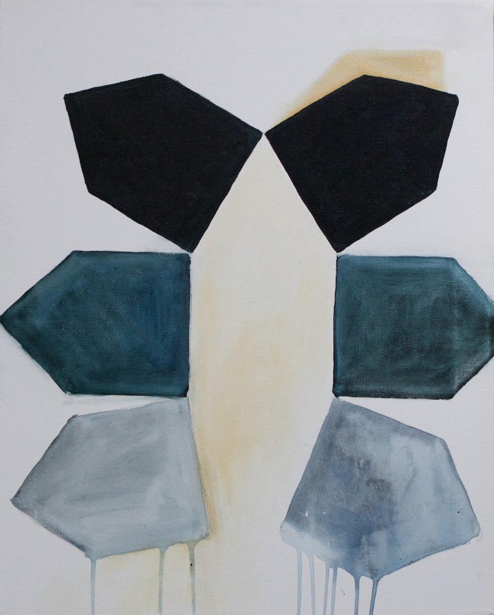 """""""Construct"""" 16x20"""" acrylic on canvas"""
