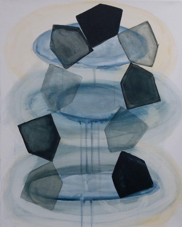 """""""Return"""" 16x20"""" acrylic on canvas"""