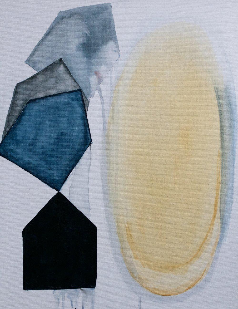 """Launch"" 16x20"" acrylic on canvas"
