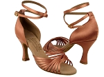 Ladies' Latin, Rhythm & Salsa S1001 Tan Satin_thumbnail.jpg