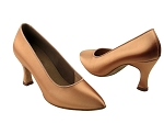 Ladies' Standard & Smooth C6901 Tan Satin_thumbnail.jpg
