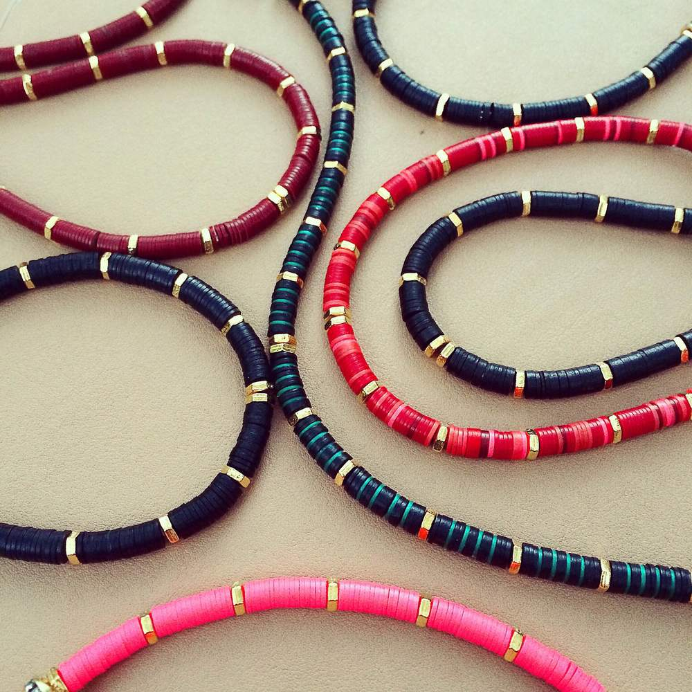 Jessy Made Skinny Vinyl Bracelets