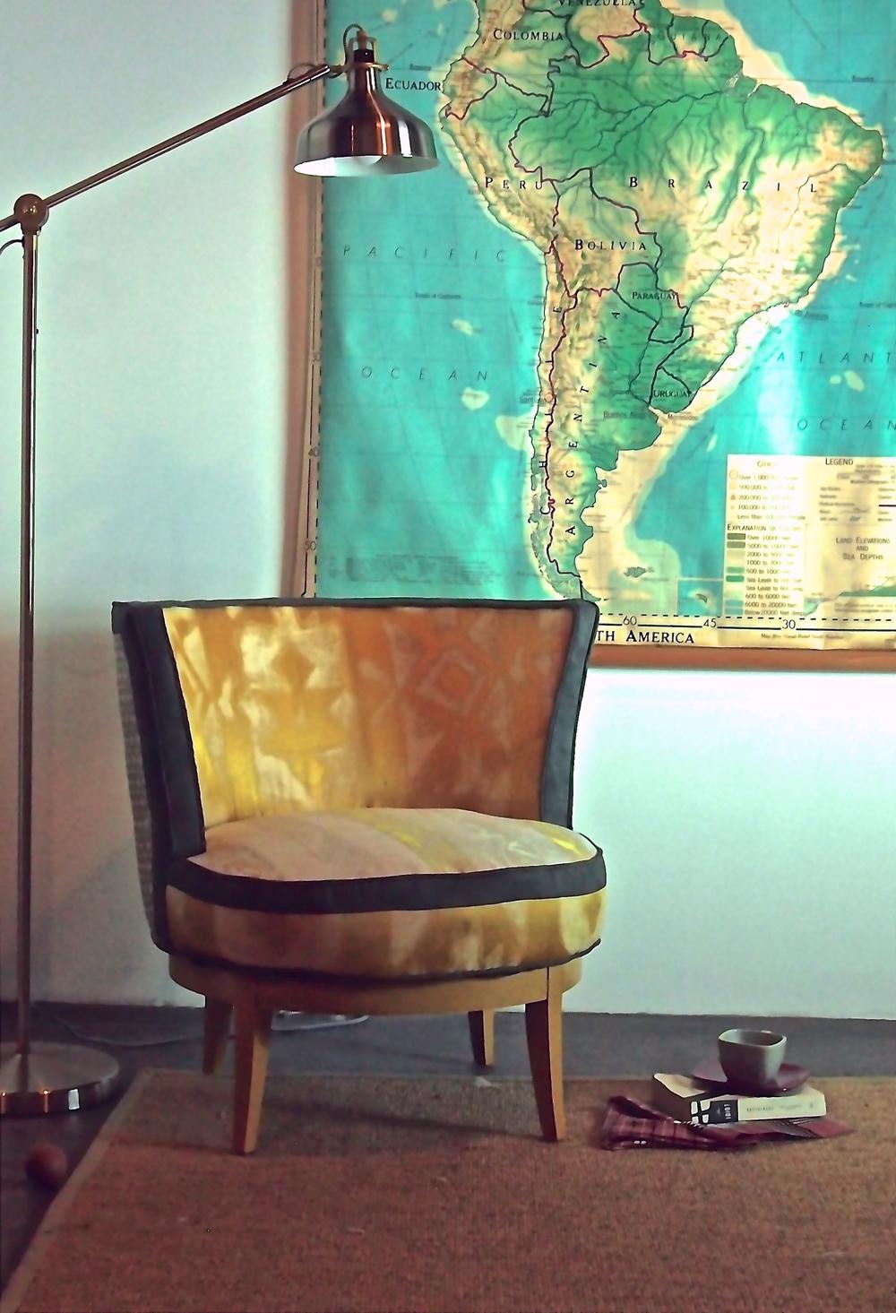 five finger furnishings' Wilhemina Swivel