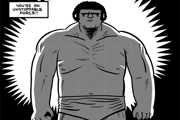 comicsalliance.com Andre the Giant's legendary wrestling story is brought to a comic