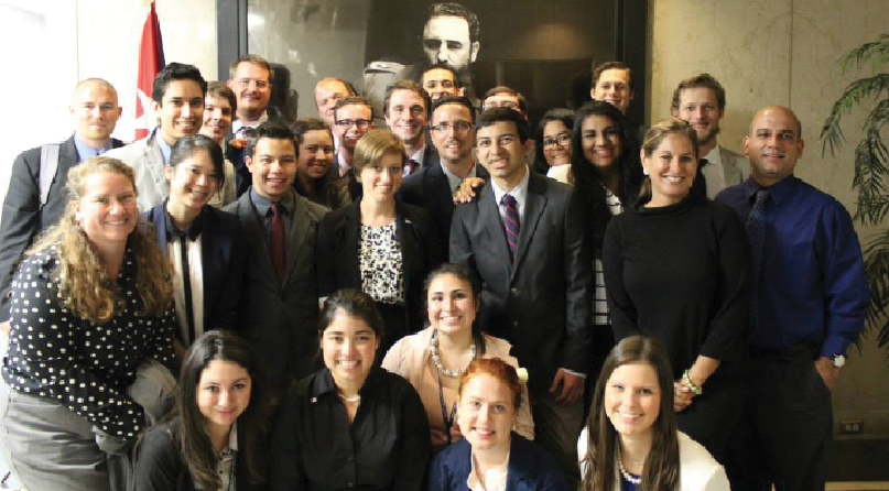 facebook.com   Sonoma State University's Model United Nations earned awards representing Cuba in New York City.