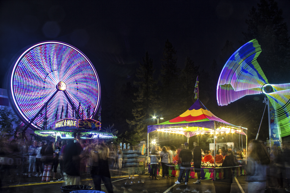 COURTESY //  Cody Fitzgerald This years Big Nite carnival welcomes back students with a night full of carnival rides, activities and food.