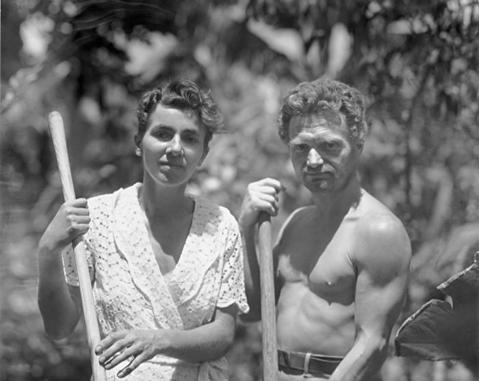 "COURTESY // Dan Geller and Dayna Goldfine Dore Strauch and Dr. Friedrich Ritter were the first inhabitants on Floreana Island in the documentary ""The Galapagos Affair: Satan Came to Eden."""