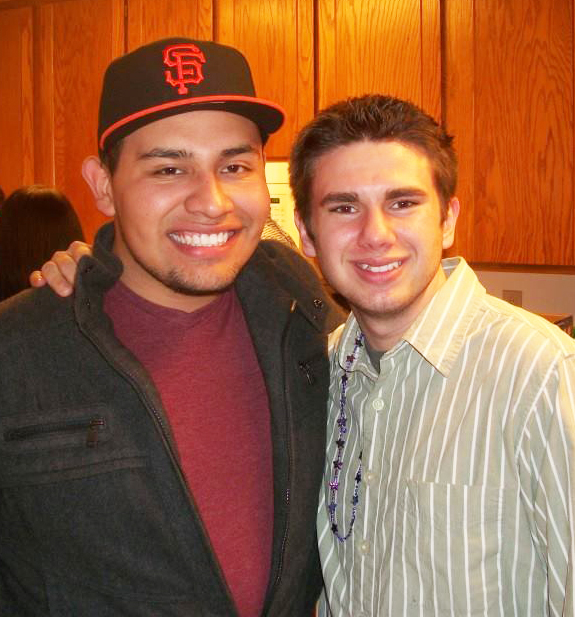 COURTESY // Taylor Bonilla Ivan Tapia-Solis, left, pictured with friend Taylor Bonilla, will be remembered as a kind and hard-working friend.