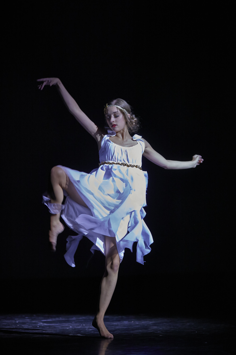 COURTESY //  David Papas Christina Kitchen frolics across the stage in her piece.